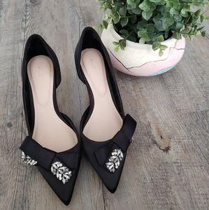ALDO | Black Stiletto Pointed Heels Size 6.5